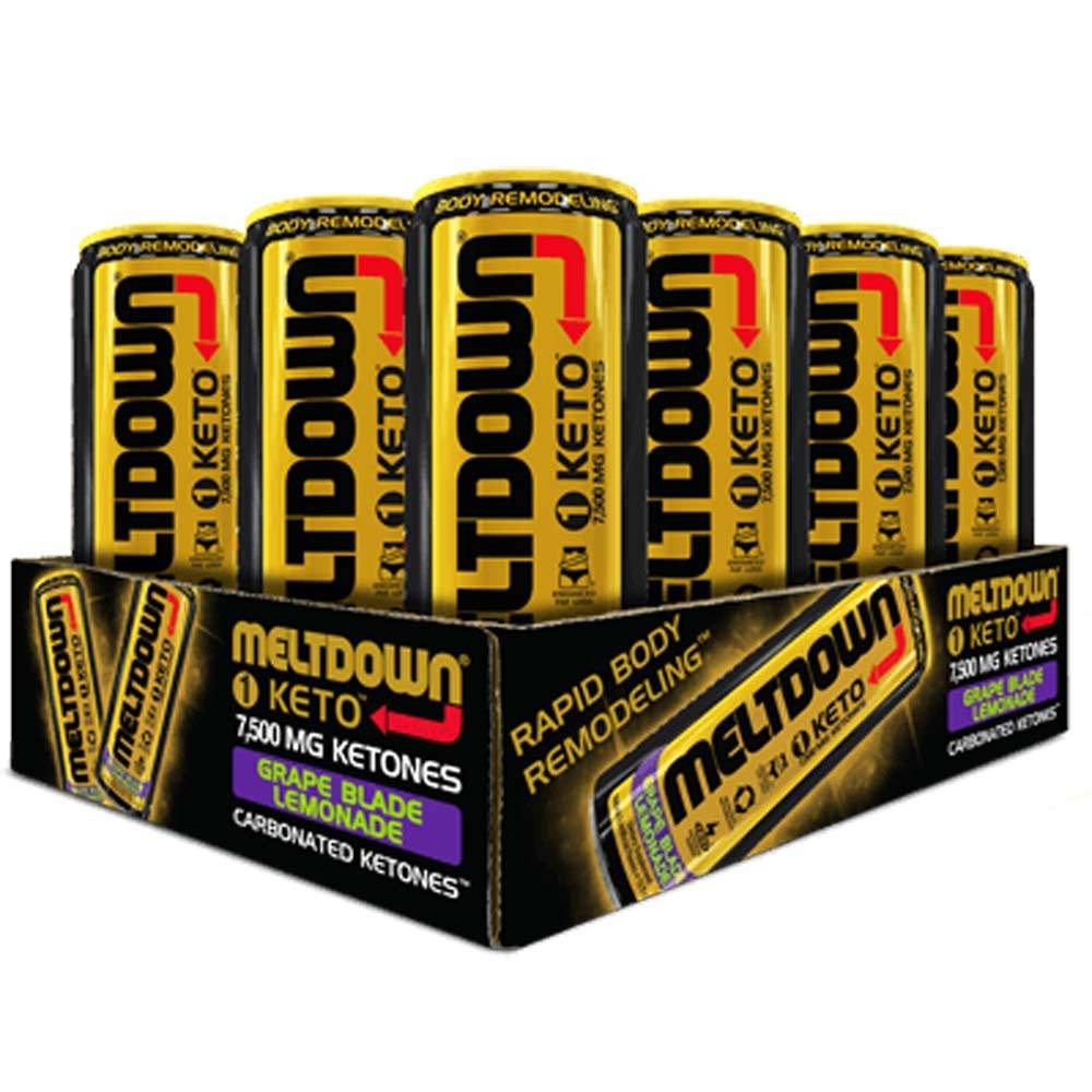 VPX Meltdown 1 Keto 12/Case Drinks VPX Grape Blade Lemonade  (1749789900843)