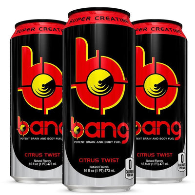 VPX Bang RTD 12/Case Diet/Energy VPX Citrus  (1058943205419)