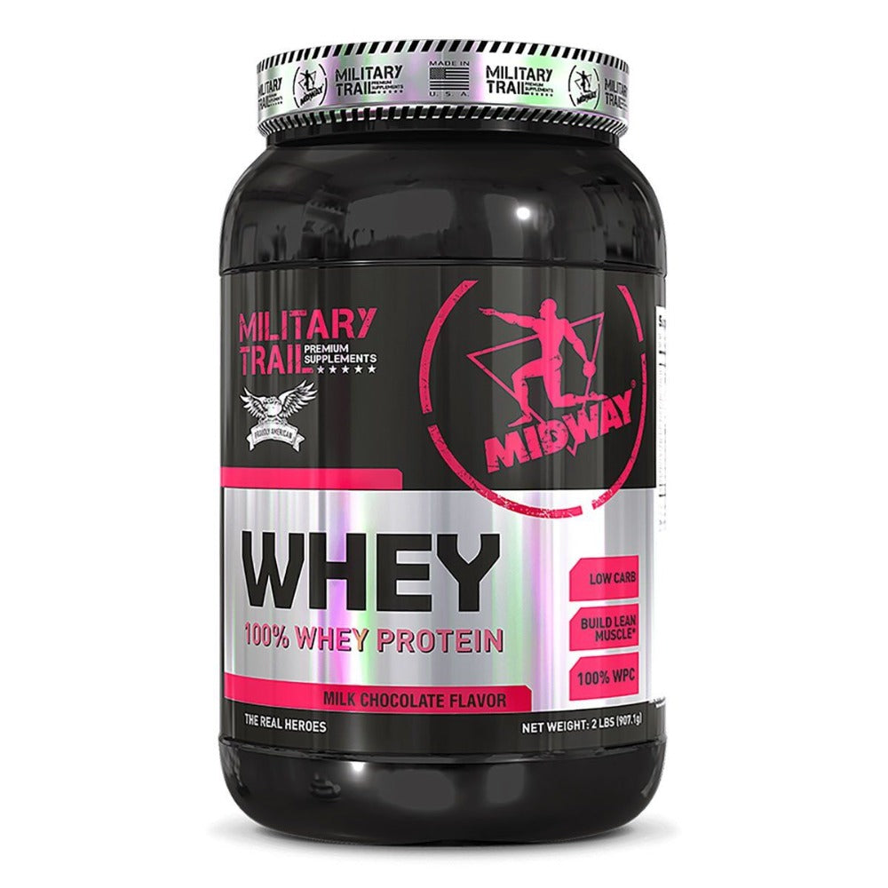 MILITARY TRAIL WHEY PROTEIN 30 SERVINGS (MILK CHOCOLATE) Protein Military Trail  (1205111324715)
