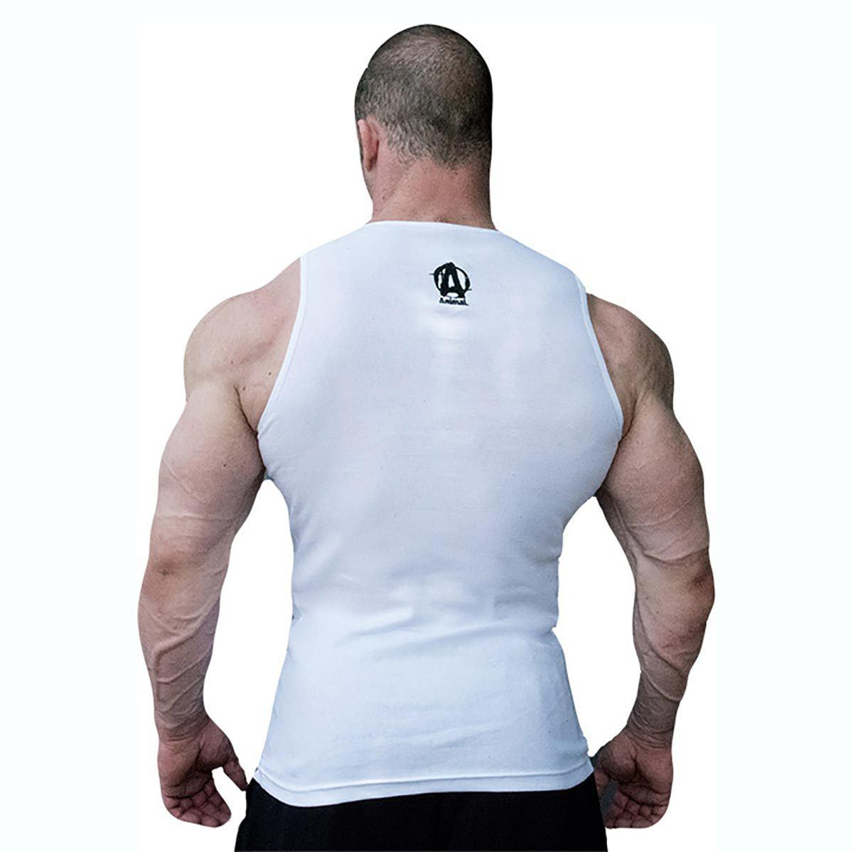 Universal Animal Tank Top (White) Large Fitness Accessories and Apparel Universal  (1058026225707)