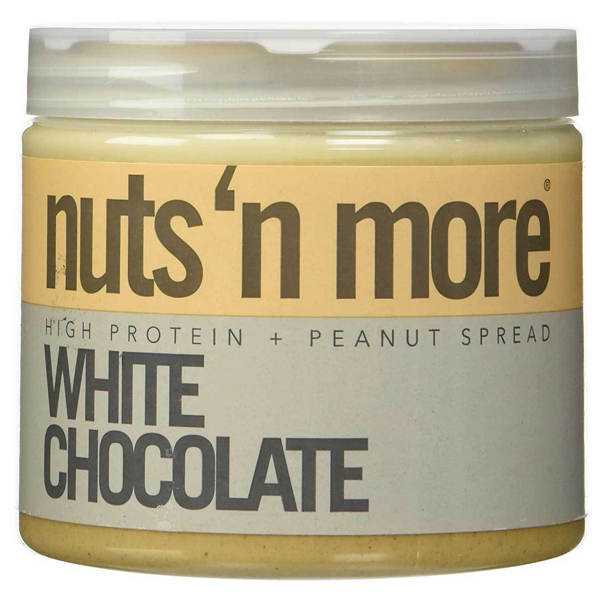 Nuts 'N More White Chocolate Peanut Butter 16 Oz Foods & Snacks Nuts 'N More  (1059232350251)