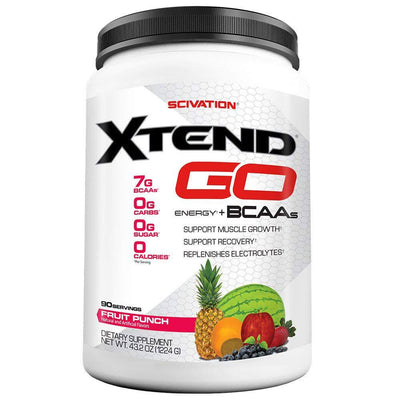 Scivation Xtend GO 90 Servings Amino Acids Scivation Fruit Punch  (1555763724331)