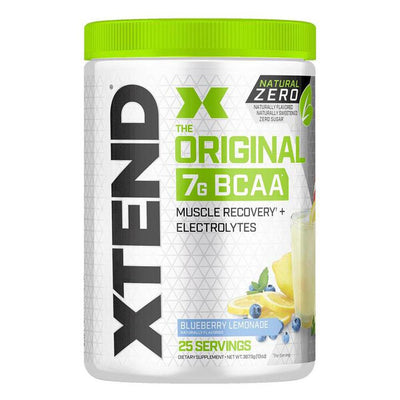 XTEND Natural Zero 25 Servings Amino Acids Scivation Blueberry Lemonade  (4168939307051)