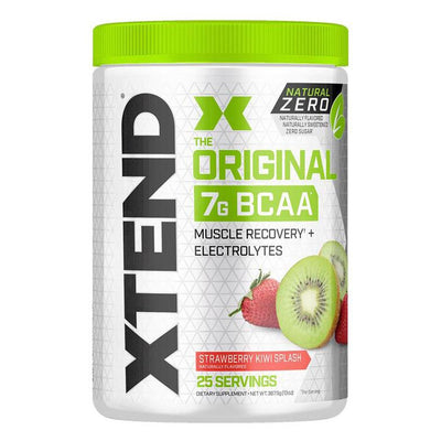 XTEND Natural Zero 25 Servings Amino Acids Scivation Strawberry Kiwi Splash  (4168939307051)