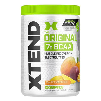 XTEND Natural Zero 25 Servings Amino Acids Scivation Orange Passionfruit  (4168939307051)
