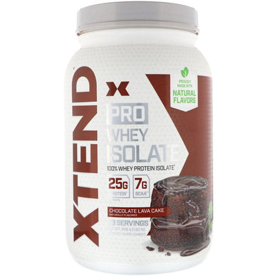 Xtend (Formerly Scivation) Pro Whey Isolate 5lb Protein Powders Scivation Chocolate Lava Cake  (4330982899777)