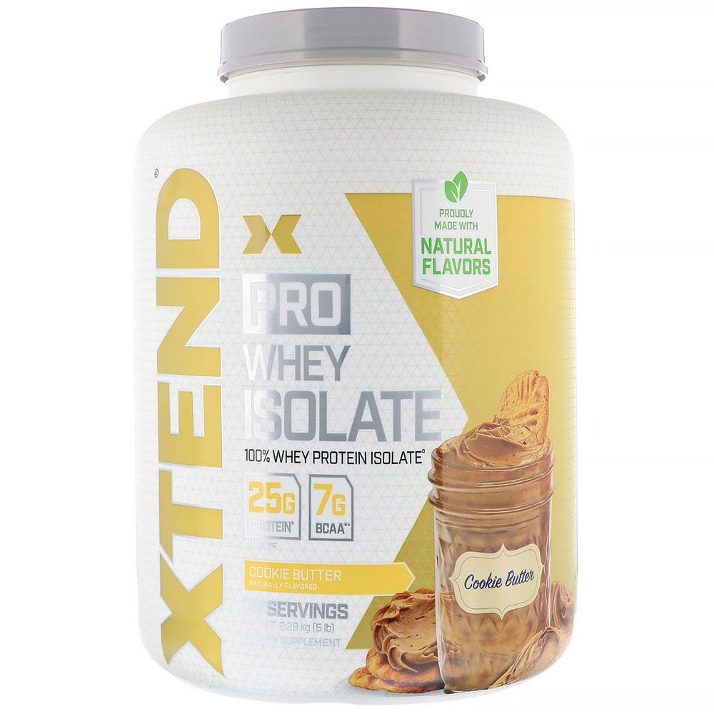Xtend (Formerly Scivation) Pro Whey Isolate 5lb Protein Powders Scivation Cookie Butter  (4330982899777)