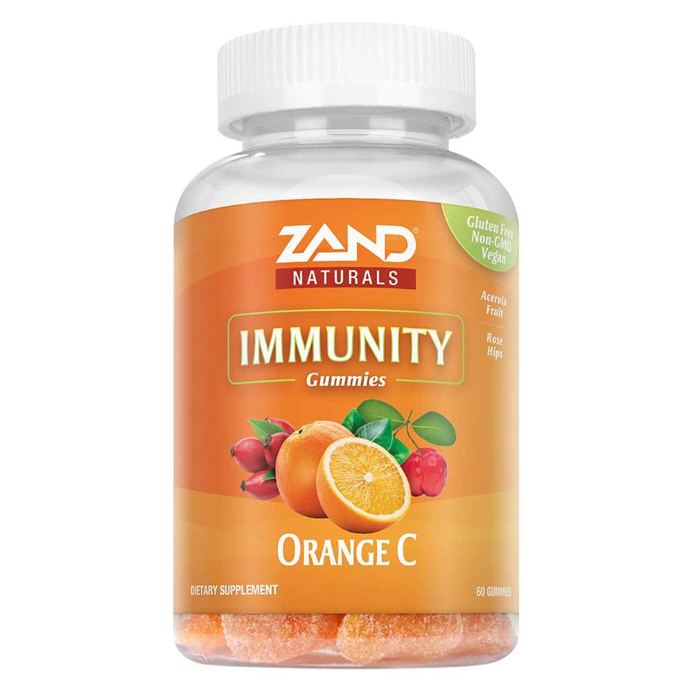 Zand Orange C Gummies 170mg 60ct Vitamins & Minerals Zand  (4594715525185)