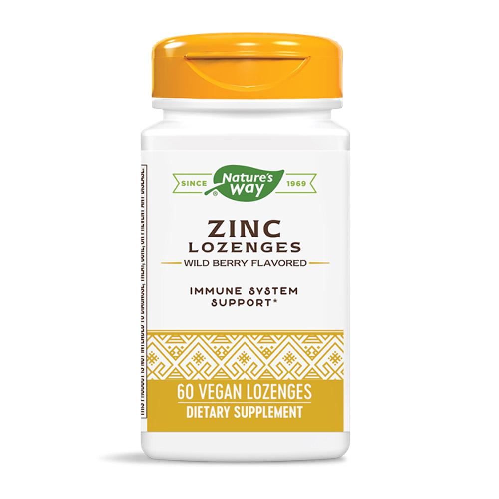 Nature's Way Zinc Lozenges 60 Lozenges Vitamins & Minerals Nature's Way  (4419002794049)