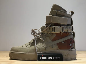 "Nike Air Force 1 Special Field ""Desert Camo""-Fireonfeet"