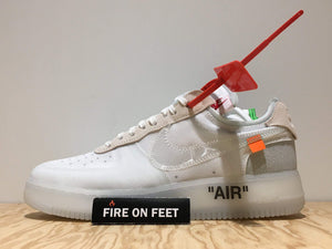 "Virgil Abloh x Off White x Nike Air Force 1 ""The Ten""-Fireonfeet"