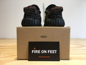Yeezy Boost 350 Infant Pirate Black-Fireonfeet