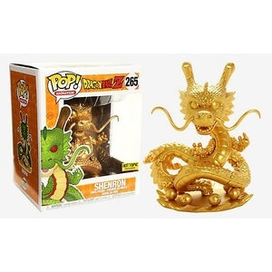 Funko Pop Animation Dragon Ball Z Gold Shenron Hot Topic Exclusive