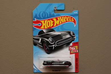 Hot Wheels Then And Now 55 Corvette