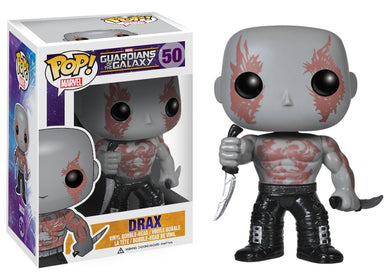 Funko Guardians of the Galaxy Marvel #50 Drax Vinyl Figure