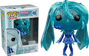 Funko Pop Rocks Hatsune Miku (Crystal) Hot topic Exclusive