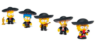 Kidrobot The Simpsons Mariachi Family