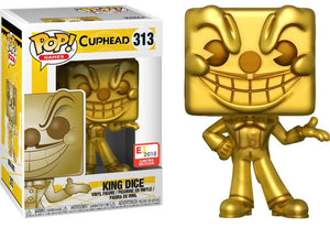 Funko Pop Games Cuphead King Dice E3 2018 Edition
