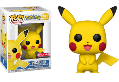 Funko Pop Games Pokemon Pikachu Target Exclusive