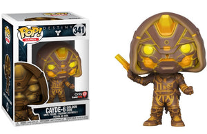 Funko Pop Games Destiny Cayde-5 Golden Gun Gamestop Exclusive