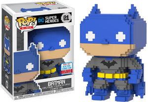 Pop 8-Bit: DC Super Heroes - Batman - 2017 Fall Convention Exclusive