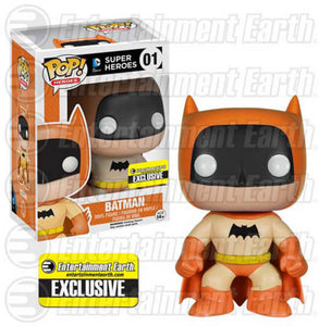 Pop Hereos: DC Super Heroes - Batman Orange -  Entertainment Earth Exclusive