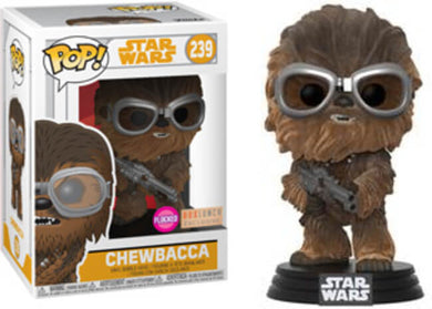 Pop Movies: Star Wars - Chewbacca - Box Lunch Exclusive - Flocked