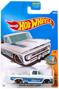 Hot Wheels Surfs Up Custome 62 Chevy Pick Up