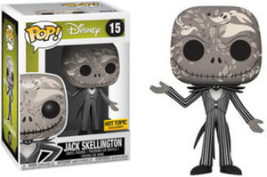 Pop Movies: The Nightmare Before Christmas - Jack Skellington Zero Art - Hot topic Exclusive