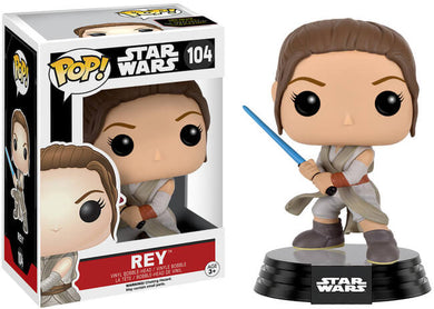 Pop Movies: Star Wars - Rey with Lightsaber