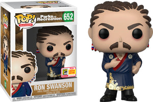Pop Television: Parks And Recreation - Ron Swanson - 2018 Summer Convention Exclusive