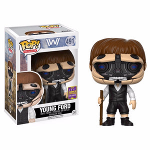 Funko Pop Television Robotic Dr. Ford Westworld Summer Convention Exclusive SDCC 2017
