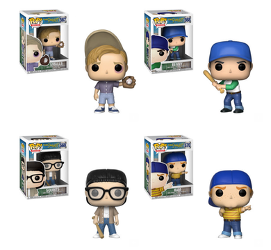 Funko Pop Movies The Sandlot  Set of 4