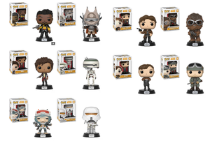 Funko Pop Star Wars - Solo  Full Set