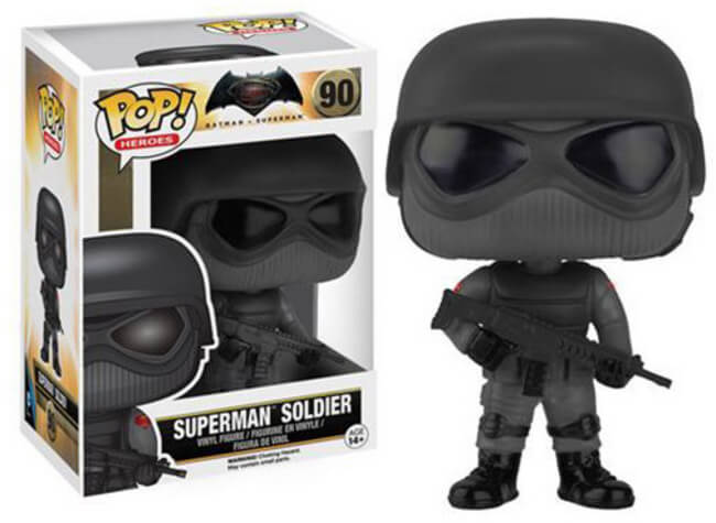 Pop Heroes: Batman V. Superman - Superman Solider