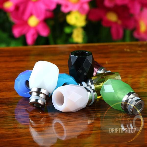 510 Crystal Glass Drip Tips