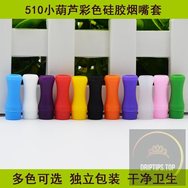 510 Disposable Silicone Test Drip Tips