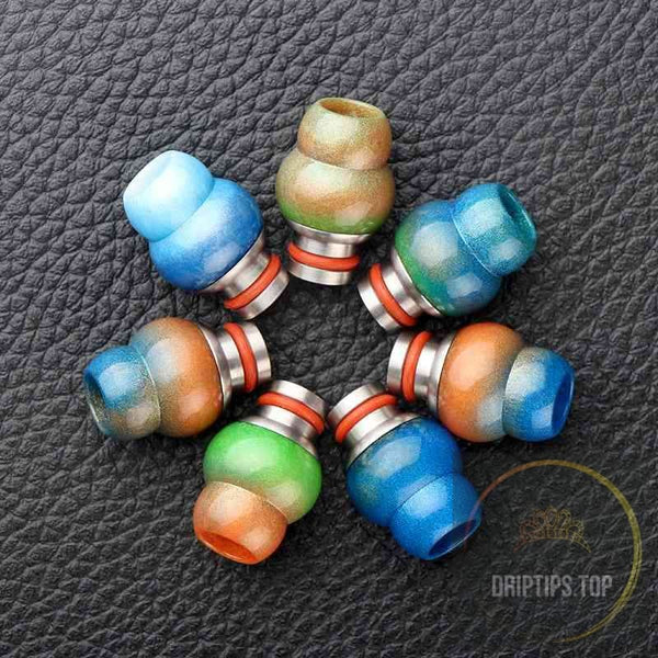 510 Gourd Epoxy Resin Drip Tips