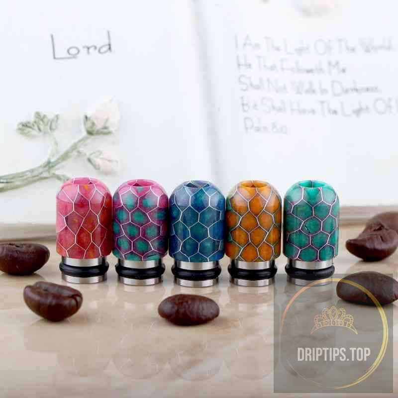 510 Ss Epoxy Resin Drip Tips