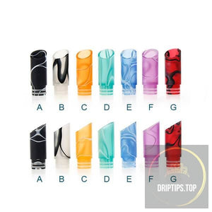 Acrylic 510 Bevel Drip Tips