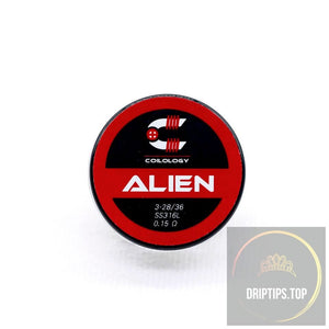 Alien - Coilology Handcrafted Coils 3-28/36 Ss316L 0.15 Ohm