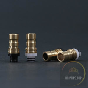 Brass With Delrin Insert 510 Drip Tips (Double O Rings)