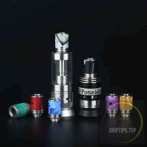Colorful Adjustable Airflow Acrylic 510 Drip Tips #1