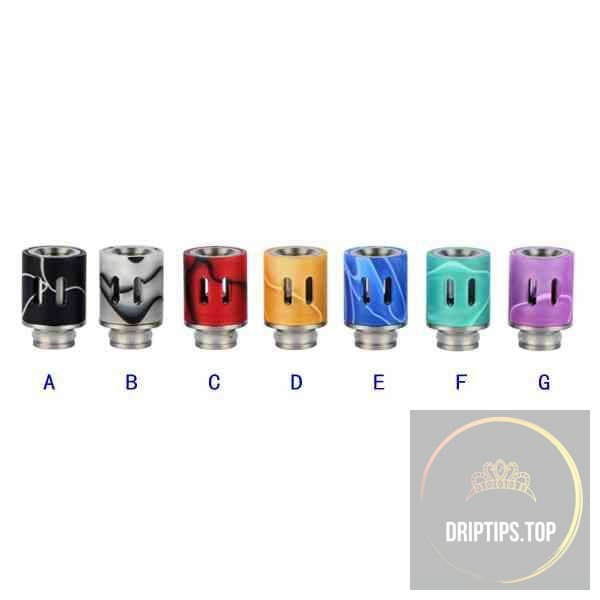 Colorful Adjustable Airflow Acrylic 510 Drip Tips #2