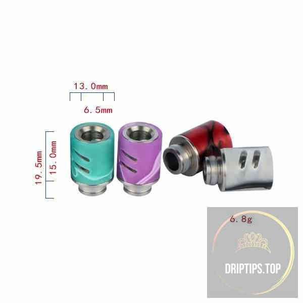 Colorful Adjustable Airflow Acrylic 510 Drip Tips #3