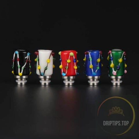 Colorful Glass 510 Drip Tips