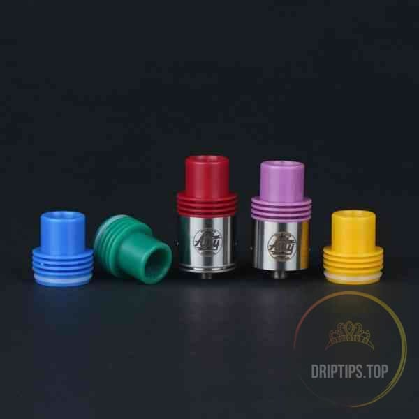 Colorful Resin Atty Rda Top Caps