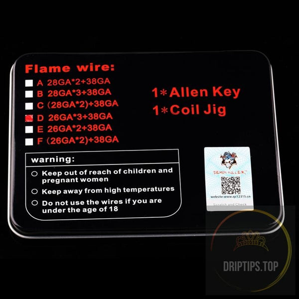 Demon Killer Flame Wire -316L