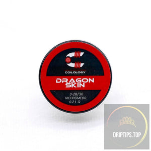 Dragon Skin - Coilology Handcrafted Coils 3-28/36 Ni80 0.21 Ohm