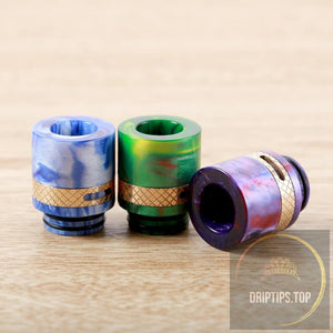 Epoxy Resin 810 Adjustable Airflow Drip Tips For Tfv8 Tfv12-Sl206